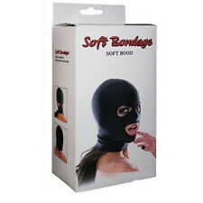 Adult Size Uni Black Sex Spandex Balaclava Warm Hood SKI Face Mask Party Cosplay