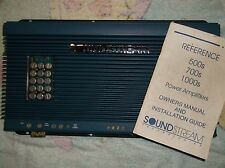 OLD SCHOOL SOUNDSTREAM REFERENCE 1000sx AMP - SOUND QUALITY! RARE USA POWERHOUSE