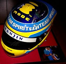 Fernando Alonso 2005 Hand Signed Full Scale team Spirit Replica Helmet with COA