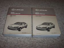 2000 Lexus ES300 ES 300 Workshop Shop Service Repair Manual Set Vol. 1-2