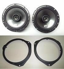 ALFA MITO ALTOPARLANTI EF65X IMPACT+SUPPORTI ALTOPARLANTI ANTERIORI 165 mm