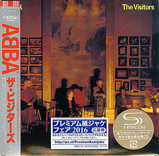 ABBA-THE VISITORS-JAPAN MINI LP SHM-CD BONUS TRACK Ltd/Ed G00