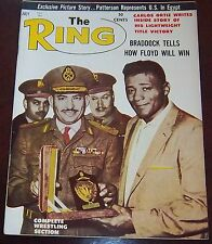 The Ring Magazine July 1962  Floyd Patterson Collectable