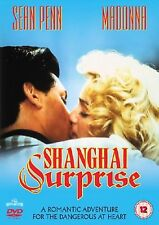Shanghai Surprise [DVD] Sean Penn, Madonna, Paul Freeman Brand New and Sealed