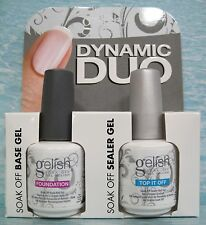 Nail Harmony gelish DYNAMIC DUO~ Foundation + Top It Off 2-pc Set for gel polish