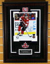 Brad Marchand Boston Bruins Signed Autographed Canada World Cup 8x10 Framed