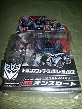 Takara Transformers Fall Of Cybertron Deluxe Onslaught MISB