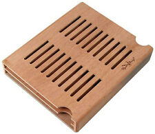 Medium Boveda Humidor Spanish Cedar Wood Packet Holder Holds 4 Humidipaks - 3234