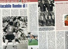 SP97 Clipping-Ritaglio 1999 Gigi Riva L'implacabile Rombo di tuono