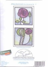 Derwentwater Cross Stitch Coasters Kit Mackintosh 1