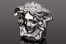Versace Belt buckle Medusa head Silver Mens belts