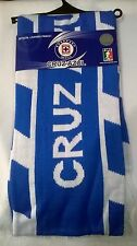 DEPORTIVO CRUZ AZUL MEXICO FMF OFFICIAL LICENSED SOCCER SCARF RALLY TOWEL futbol
