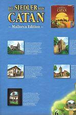 Die Siedler von Catan-Mallorca Edition-Spielkarte-Karte-Map-neu-sehr selten