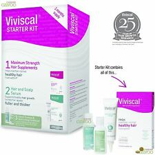 Viviscal Starter Kit Hair Growth and Hair Care Regrowth Programme Supplement New