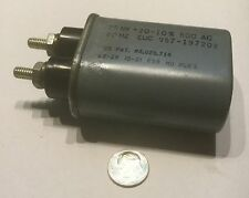 can type 2 post fixed capacitor 25 MF +20 -10 % 800 AC 60 HZ 34-1005 957-197202