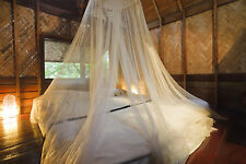 Effective Mosquito Net Double King Size White Bed Canopy  for Holiday and Home