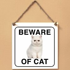Exotic Shorthair Beware of cat Targa gatto cartello ceramic tiles