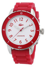 Lacoste Rio Steel & Silicone Hot Pink Womens Fashion Watch Quartz 2000746