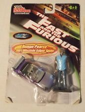 ROMAN PEARCE 2001 MITSUBISHI SPYDER 2 FIGURE RACING CHAMPIONS FAST AND FURIOUS