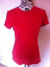 Adidas Red T-shirt Ladies Size S New