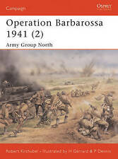 OSPREY CAMPAIGN OPERATION BARBAROSSA 1941 ARMY GROUP NORTH