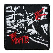 """Punk Rock Band """"The Misfits: Bullet"""" Artwork Patch Embroidered Iron-On Applique"""
