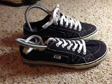 VANS Tory AUTHENTIC Womens Size 5.5 Shoe  BLACK. KED