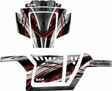 RACING DECALS GRAPHICS KIT 2007-2010 POLARIS RANGER RZR 800 wrap graphic kits