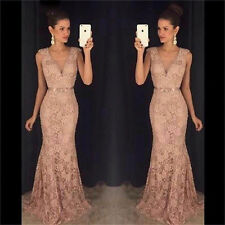 New Long Formal Bridesmaid Dress Ball Gown Evening Party Cocktail Prom Dresses