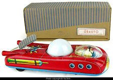 Urauto space car with lighted color dome Lemezaru Gyar Hungary boxed