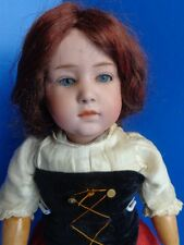 "17"" ANTIQUE GERMAN GEBRUDER HEUBACH POUTY CHARACTER DOLL #6970- GORGEOUS"