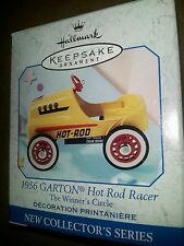 Hallmark 1957 Garton Hot Rod Racer ornament. 1999 MIB. 1st in series