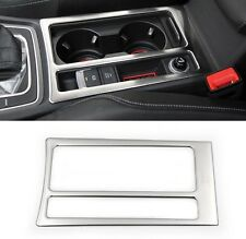 VW Golf 7 VII TSI TDI GTI R Edelstahl gebürstet Rahmen für konsole wie Bild 4