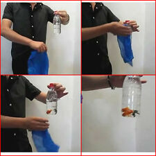 New Incredible Close-Up Magic Stage Trick Fish In A Bottle Penetration Instant