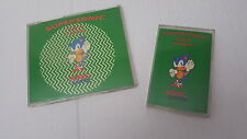Supersonic H.W.A / HWA Featuring Sonic the Hedgehog CD & Cassette Singles Music