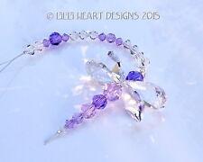 m/w Swarovski Crystal RARE Beads PURPLE DRAGONFLY Suncatcher Lilli Heart Designs