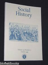 Social History-Sociology-Volume 24, No. 3-October 1999 - Social Studies Magazine