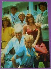CPA PHOTO ACTEUR ACTRICE CINEMA SERIE TV DALLAS LA FAMILLE EWING