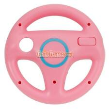 Pink Mario Kart Racing Steering Wheel For Nintendo Wii Game Controller