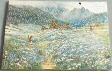 Field of Daisies - Vintage 1920's Wooden Jigsaw Puzzle