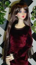 "DOLL Wig, Monique Gold ""Geneva"" Size 6/7 in Brown Black"