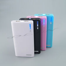 Pink 20000MAH Portable Mobile Power Bank Dual USB Battery Charger For CellPhone