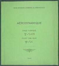 ENSA - AÉRODYNAMIQUE GRAPHIQUE DES ONDES DE CHOC (CONIQUE & OBLIQUE) Aeronautiqu