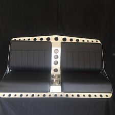Bomber style bench seat for rat rod street rod or airboat