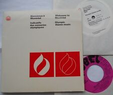 MONTREAL 1976 OLYMPIC GAMES Music ANDRE MATHIEU...CANADA PS 2 45 rpm EP