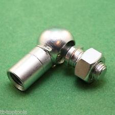 Winkelgelenk DIN 71802 CS M5 LH verzinkt Mutter Sicherungsfeder Kugelgelenk Top