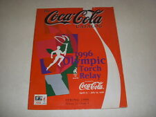 THE COCA-COLA CATALOG, SPRING, 1996, 1996 OLYMPIC TORCH RELAY, POLAR BEARS!