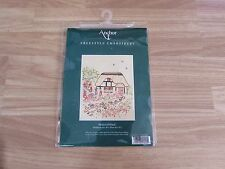CROSS STITCH CRAFT KIT COTTAGE BY ANCHOR FREESTYLE EMBROIDERY