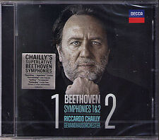 Riccardo CHAILLY: BEETHOVEN Symphony No.1 & 2 Creatures of Prometheus Leonore CD
