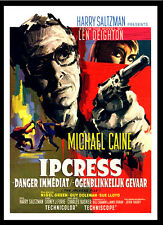 A3 -Ipcress File Michale Caine Belgian Movie wall Home Posters Retro Art #10